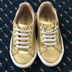 Michael by Michael Kors Toddler Girl Gold Shoes 9C